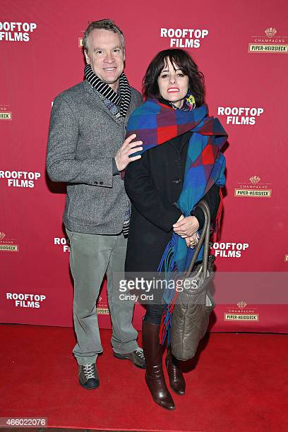 Tate Donovan and Parker Posey attend as Champagne Piper-Heidsieck and Rooftop Films present a special preview of Ethan Hawke's new documentary...