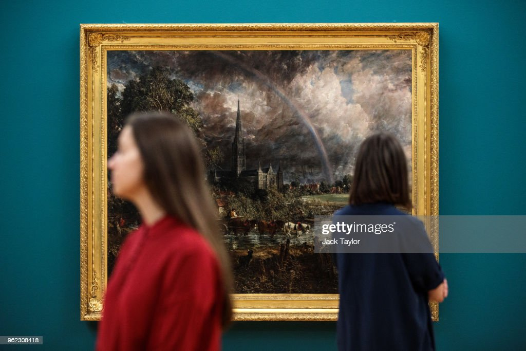 Fire And Water - A Display Of Constable And Turner At The Tate Britain