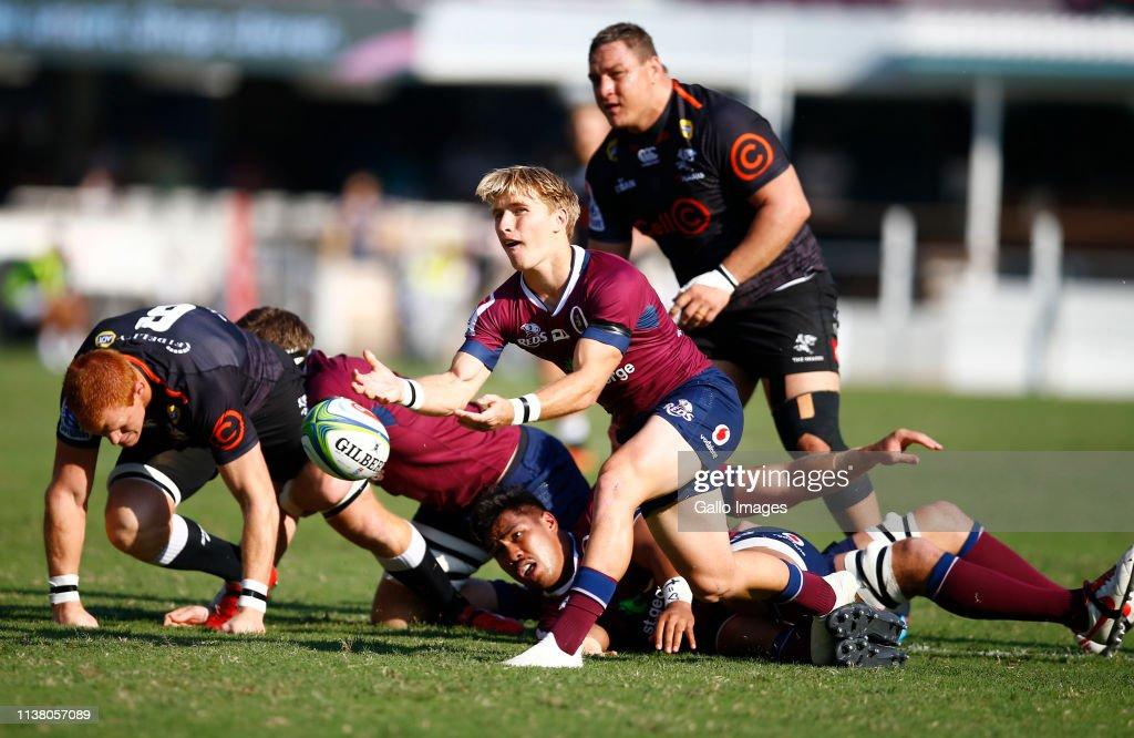 ZAF: Super Rugby Rd 10 - Sharks v Reds