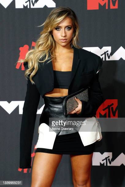 Tate McRae attends the 2021 MTV Video Music Awards at Barclays Center on September 12, 2021 in the Brooklyn borough of New York City.