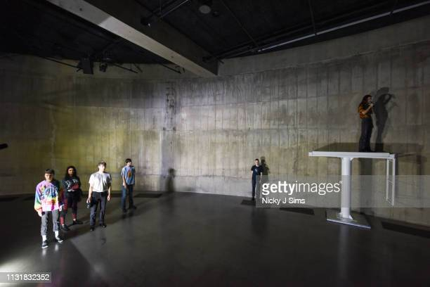 Tate Modern unveils new BMW Tate Live Exhibition 'Sex' by Anne Imhof at Tate Modern on March 21 2019 in London EnglandThis is the first major UK...