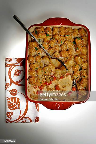 Tater tot casserole can be part of a healthy diet when it's made with ground turkey and plenty of fresh vegetables