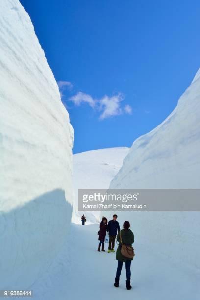 Tateyama Kurobe alpine route snow corridor