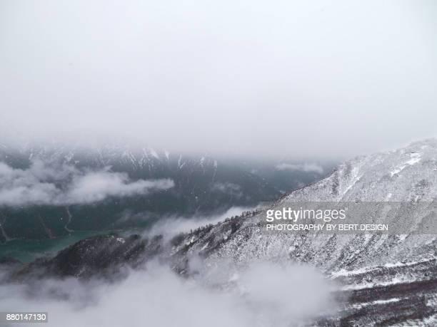 Tateyama Kurobe in winter Japan