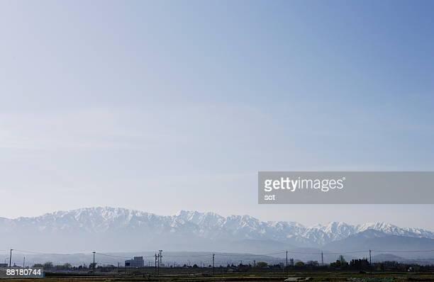 tateyama mountain ranges   - 富山県 ストックフォトと画像