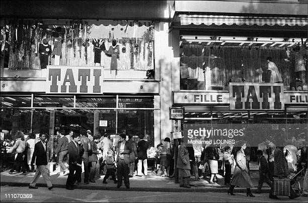 Tati is one of Paris's most iconic stores originally created in 1949 by Jules Ouaki to cater to budgetconscious shoppers in this neighborhood heavily...