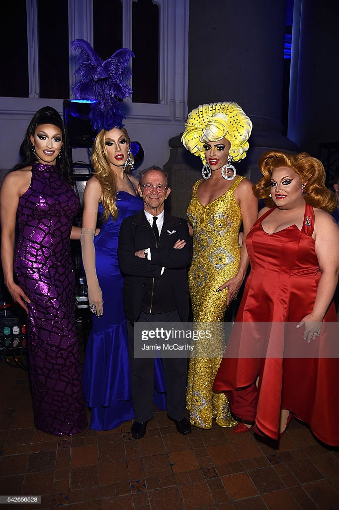 Tatiana, Alaska Thunderfvck, Joel Grey, Alyssa Edwards and Ginger Minj attend the 2016 Logo's Trailblazer Honors at Cathedral of St. John the Divine on June 23, 2016 in New York City. Trailblazer Honors airs Saturday night, June 25th on Logo and VH1.