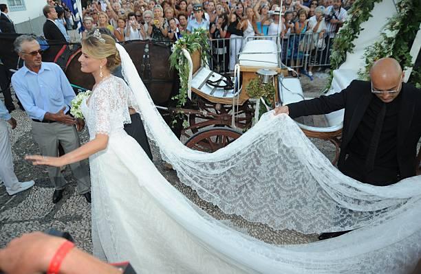 Wedding of Prince Nikolaos and Tatiana Blatnik - Arrivals Photos and ...