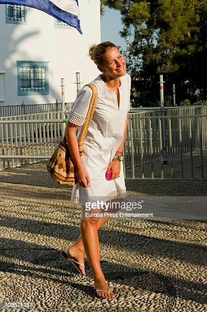 Tatiana Blatnik on August 24 2010 in Spetses Greece