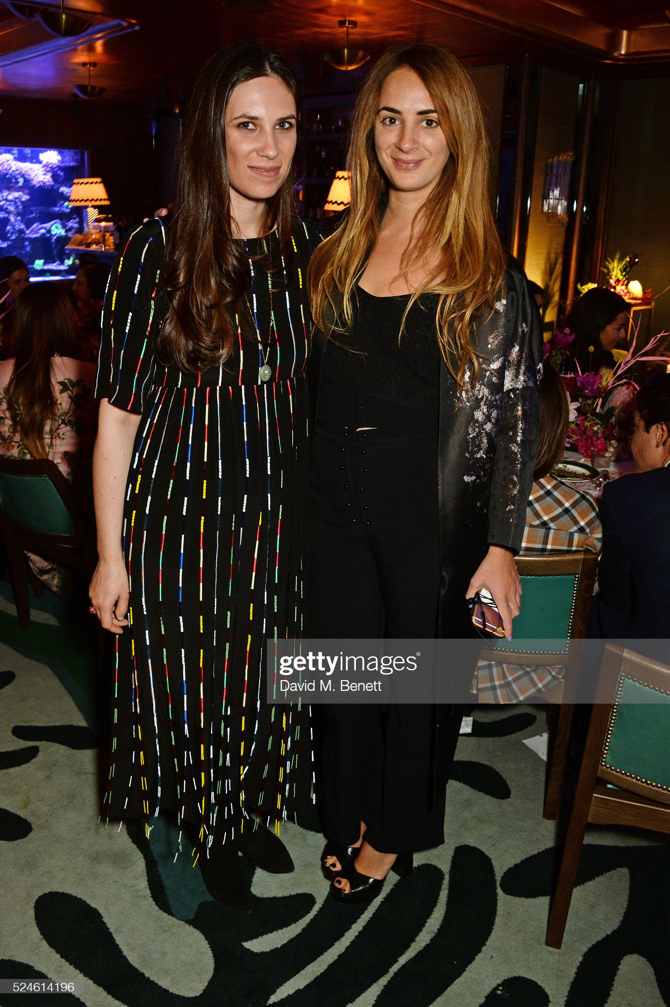 Venyx Oseanyx Collection Launch Party Hosted By Eugenie Niarchos And Lucy Yeomans : News Photo