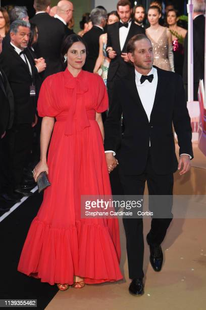 Tatiana Casiraghi and Andrea Casiraghi attend the Rose Ball 2019 To Benefit The Princess Grace Foundation on March 30 2019 in Monaco Monaco