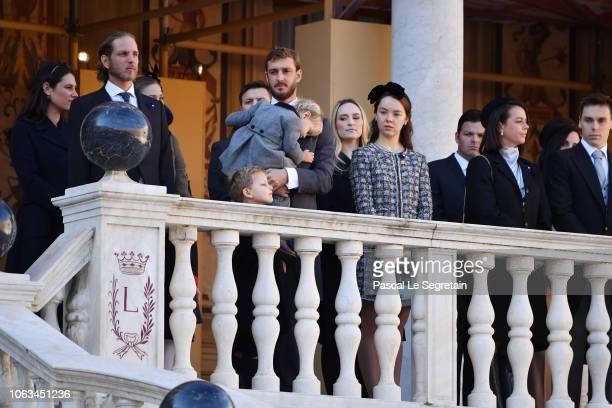 Tatiana Casiraghi,Andrea Casiraghi, Sacha Casiraghi,Pierre Casiraghi with his son Stefano Casiraghi,Princess Alexandra of Hanover,Pauline Ducruet and...