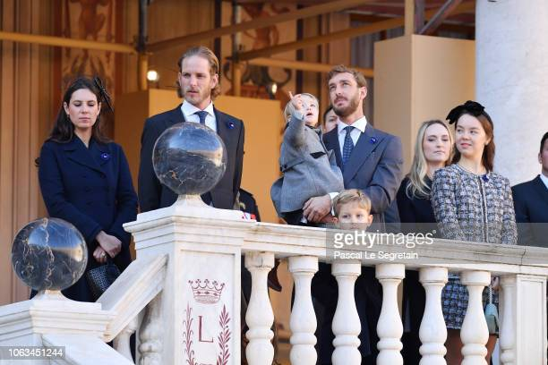 Tatiana CasiraghiAndrea CasiraghiPierre Casiraghi with his son Stefano Casiraghi Sacha Casiraghi Roisin Galvin Wittstock and Princess Alexandra of...