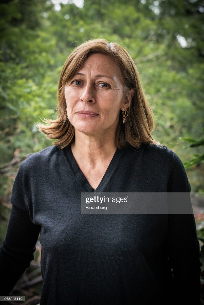 Tatiana Clouthier, campaign manager for Morena party's Mexican presidential candidate Andres Manuel Lopez Obrador, stands for a photograph following an interview in Mexico City, Mexico, on Wednesday, June 13, 2018. Drug mules, farmers forced to grow illegal crop and women forced into criminal acts may be part of presidential front-runner Obrador's drug amnesty plan, Clouthier said at an event in Mexico City. Photographer: Lujan Agusti/Bloomberg via Getty Images