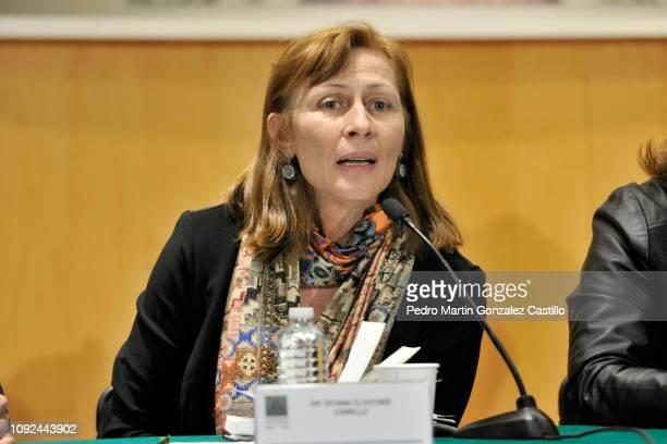 Tatiana Clouthier Carrillo former coordinadora de campaña presidencial de Andrés Manuel López Obrado attends the screening of the documentary 'Hasta...