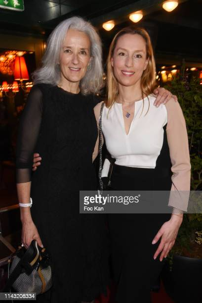 Tatiana de Rosnay and Adelaide de ClermontTonnerre attend the La Closerie Des Lilas Literary Awards 2019 At La Closerie Des Lilas on April 16 2019 in...