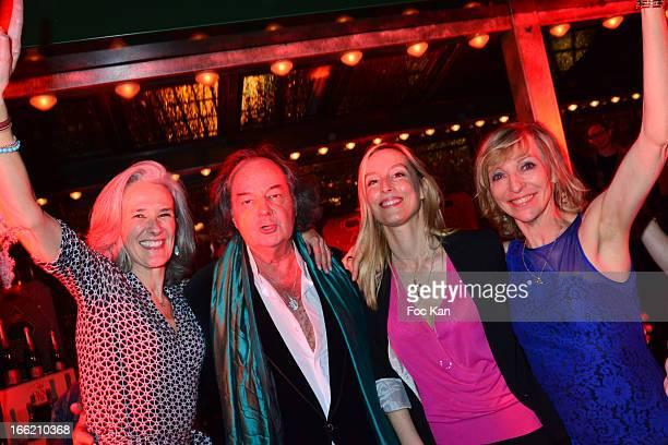 Tatiana de Rosnay, Gonzague Saint Bris, Adelaide de Clermont Tonnerre and Emmanuelle de Boysson attend La Closerie Des Lilas Literary Awards 2013 -...
