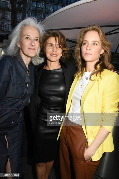 Tatiana de Rosnay Odile D'Outlremont and Anne Nivat attend the 'La Closerie Des Lilas' Literary Awards 2018 At La Closerie Des Lilas on April 11 2018...