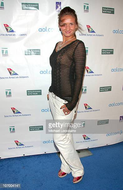 Tatiana Golovin during Glam Slam '06 Launching the 2006 US Open Arrivals at Crobar in New York City New York United States