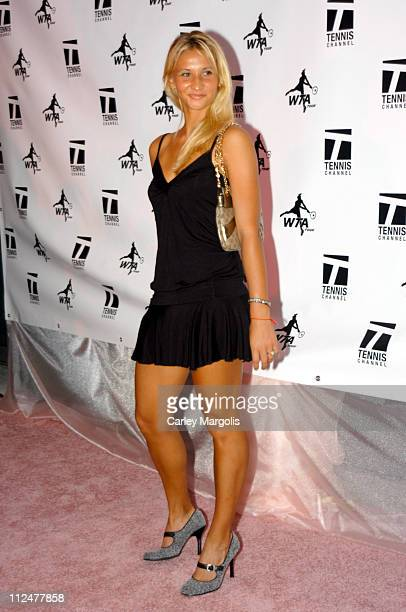 Tatiana Golovin during WTA Glam Slam New York City 2004 at Ruby Falls in New York City New York United States