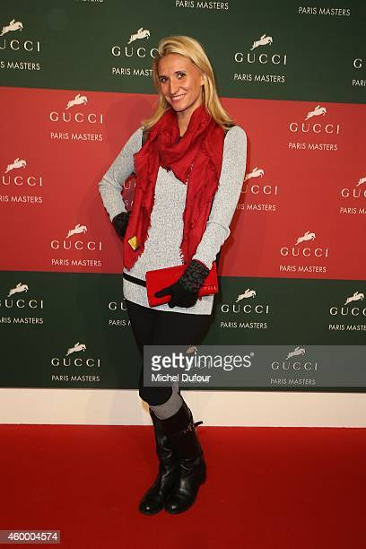 Tatiana Golovine attends the Gucci Paris master Day 2 on December 5 2014 in Villepinte France