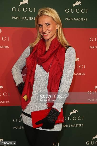 Tatiana Golovine attends the Gucci Paris master Day 2 on December 5 2014 in Villepinte France