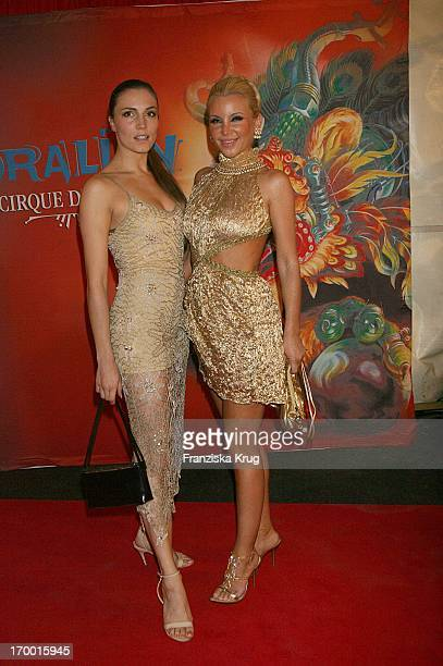 Tatiana Gsell And Kerstin Merlin at The 'Dralion' premiere from 'Cirque Du Soleil' in Berlin 300806