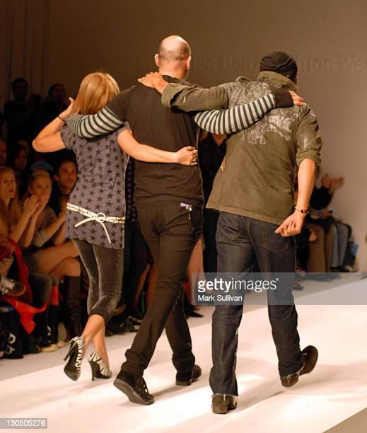 Tatiana Harper Peter Ross designer and Renee Acuna codesigner Grail Fall 2007