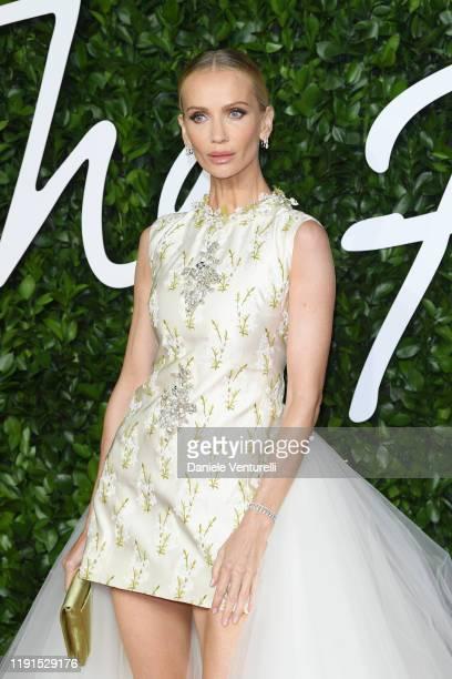 Tatiana Korsakova arrives at The Fashion Awards 2019 held at Royal Albert Hall on December 02 2019 in London England