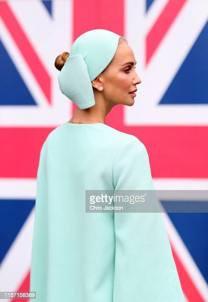 Tatiana Korsakova attends Ladies Day at Royal Ascot Racecourse on June 20, 2019 in Ascot, England.