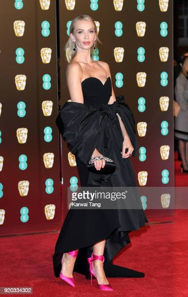 Tatiana Korsakova attends the EE British Academy Film Awards held at the Royal Albert Hall on February 18 2018 in London England