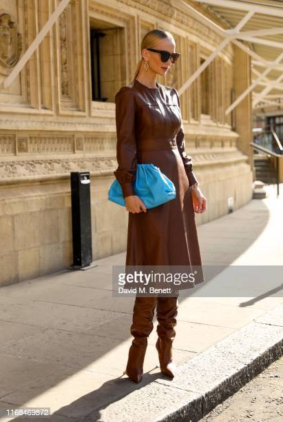 Tatiana Korsakova attends the Emilia Wickstead show during London Fashion Week on September 15 2019 in London England