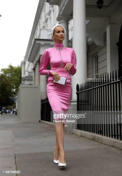 Tatiana Korsakova attends the Erdem show during London Fashion Week on September 16 2019 in London England