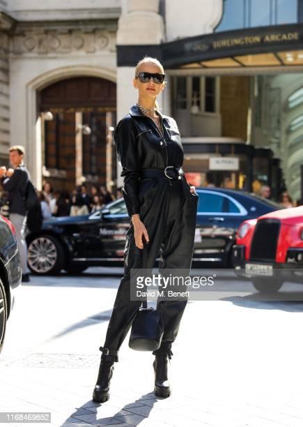 Tatiana Korsakova attends the Roland Mouret show during London Fashion Week on September 15 2019 in London England