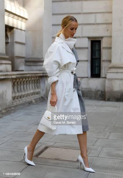 Tatiana Korsakova attends the Victoria Beckham show during London Fashion Week on September 15 2019 in London England