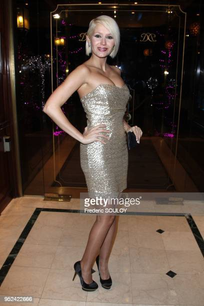 Tatiana Laurens attends 'The Best' at The Pavillon Dauphine Restaurant in Paris France on December 11 2011