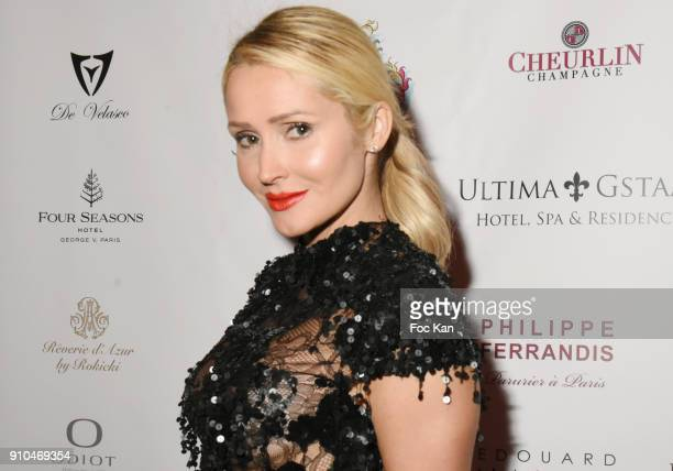 Tatiana Laurens Delarue attends the 41st 'The Best' Award Ceremony in Paris Paris Fashion Week Haute Couture Spring Summer 2018 at Hotel Four Season...