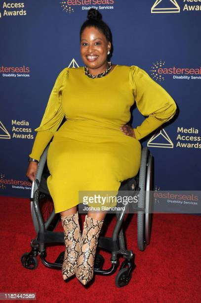 Tatiana Lee attends the 40th Annual Media Access Awards In Partnership With Easterseals at The Beverly Hilton Hotel on November 14 2019 in Beverly...