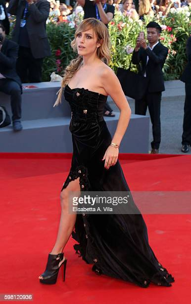 Tatiana Luter attends the opening ceremony and premiere of 'La La Land' during the 73rd Venice Film Festival at Sala Grande on August 31 2016 in...