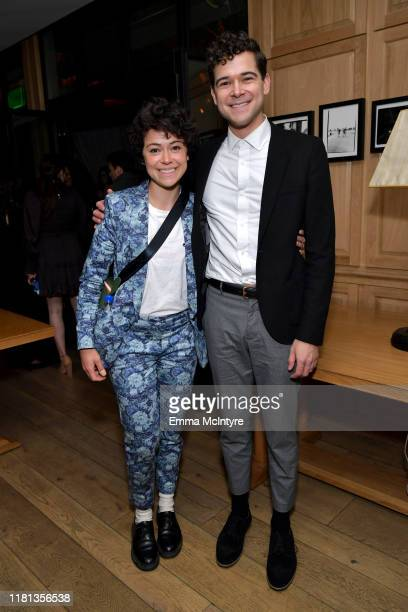 """Tatiana Maslany and Daniel Maslany as YouTube Originals hosts a special screening of """"Impulse"""" Season 2 from the director of The Bourne Identity on..."""