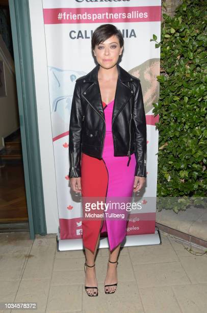 Tatiana Maslany attends Canada's Emmy Celebration party honoring the Canadian nominees for the 70th annual Primetime Emmy Awards at Official...