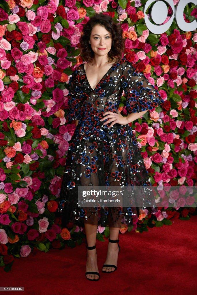 Tatiana Maslany attends the 72nd Annual Tony Awards at Radio City Music Hall on June 10, 2018 in New York City.