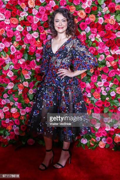 Tatiana Maslany attends the 72nd Annual Tony Awards at Radio City Music Hall on June 10 2018 in New York City