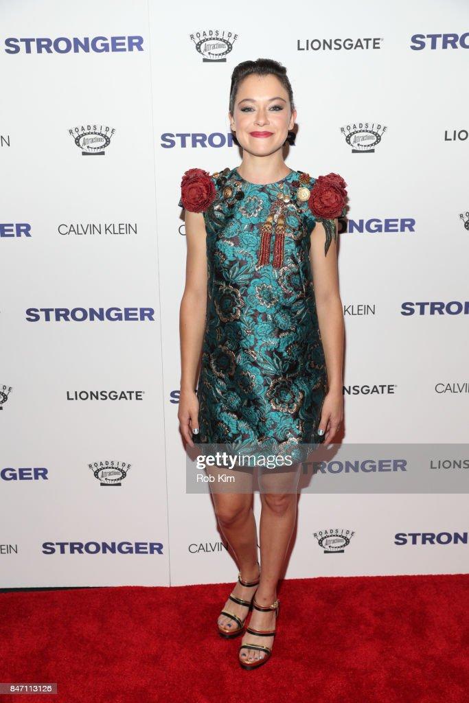 """Stronger"" New York Premiere"