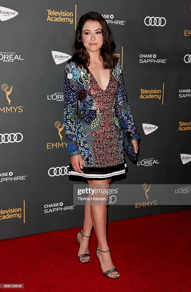 Tatiana Maslany Attends The Television Academy Reception For Emmy