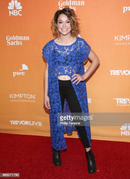 Tatiana Maslany attends The Trevor Project's 2017 TrevorLIVE LA Gala at The Beverly Hilton Hotel on December 3 2017 in Beverly Hills California