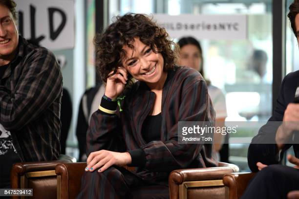 Tatiana Maslany discusses Stronger at Build Studio on September 15 2017 in New York City