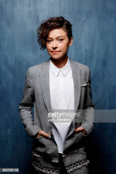 Tatiana Maslany from the film Stronger poses for a portrait at the 2017 Toronto International Film Festival for Los Angeles Times on September 8 2017...