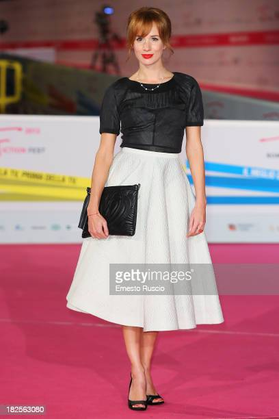 Tatiana Pauhofova attends the 'Burning Bush' photocall during the Roma Fiction Fest 2013 on September 30 2013 in Rome Italy