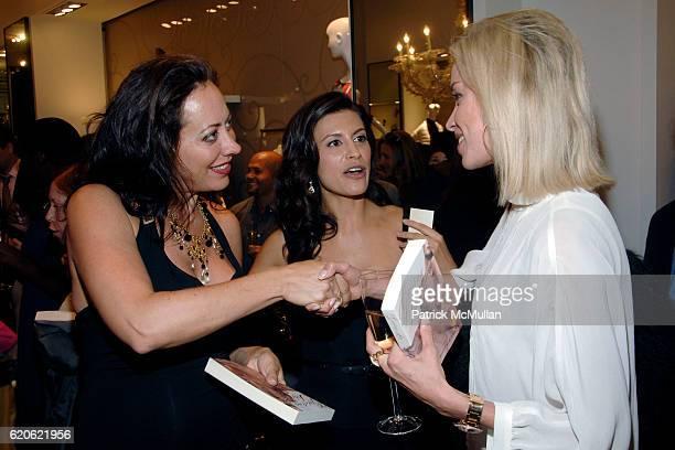 Tatiana Platt Tatiana Boncompagni and guest attend VOGUE and ELIE TAHARI host cocktails to celebrate TATIANA BONCOMPAGNI's new book GILDING LILY at...